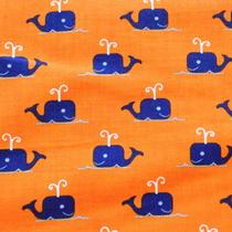 Whales orange