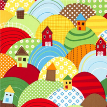 Hügeln & Häuser