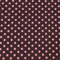 Tupfen pink auf anthrazit