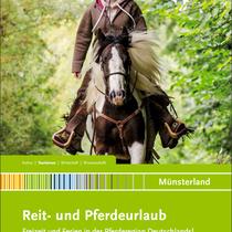 Das größte aktuelle Fotoprojekt ist die Erstellung von einer Vielzahl an Fotos für die Pferderegion Münsterland. Das ist das neue Titelbild des diesjährigen Katalogs!