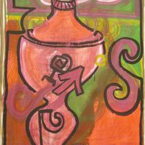1993, o.T., 100 x 140, Acryl