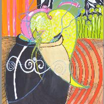 1987, o.T., 100 x 140, Acryl