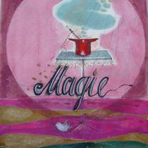 1982, MAGIE, 21 x 29, Öl und Acryl