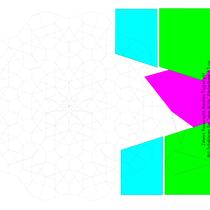 Islamic Passacaglia Mandala Topper.pdf Tischdecke Durchmesser ca. 95 cm
