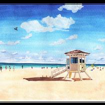 フロリダのビーチ