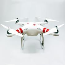 DJI Phantom 2 Quadrocopter V2.0      - Akku             : 5200 mAh LiPO - Maße            : 350mm - Gewicht       : 1242 g - Flugzeit  ca : 10 min