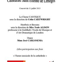 11 Juillet 2015, Limoges Cathedral