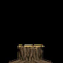Ein Baumstumpf