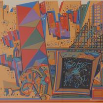 SOHO N.Y,C  シルクスクリーン ed78/100  31×40