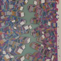 NEW YORK  リトグラフ、シルクスクリーン  71×51
