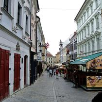 Bratislava | «Touristisches» Altstadtleben.