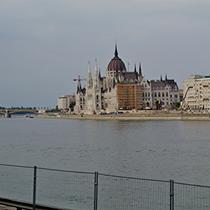 Budapest | Parlamentsgebäude.