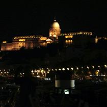 Budapest | Kettenbrücke | Burgpalast.