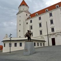 Bratislava | «Pressburg» | Reiterdenkmal.