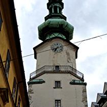 Bratislava | Turm des «Michaelertors»