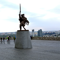 Bratislava | «Pressburg» | Reiterdenkmal von Svatopluk I.