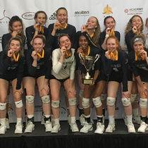 U18's - Emerald City Classic Winners Club - Bite their medals !