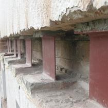 Umbau, Anbau und energetische Sanierung Einfamilienhaus in Winterbach | Abfangung der Aussenwand
