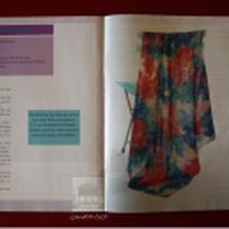 Original: Country-LebensArt, BriSch, Seidenmalerei, Veröffentlichung in Fachzeitschrift