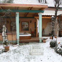 Original: Country-LebensArt, BriSch, Poolhaus, Wandbilder - Murals - Winter