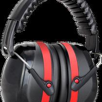 Model EM-5002BA Ear-Muff  (SNR=32dB) with Foldaway Headgear, CE Certificate of EN352-1:2002