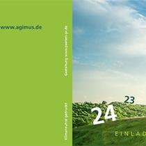Agimus / Einladungskarte