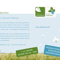 Gemeinde Lachendorf / Baugebiet Südhang / Postkarte