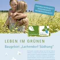 Gemeinde Lachendorf / Baugebiet Südhang / Plakat