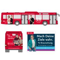 TU Braunschweig / Busbeschriftung