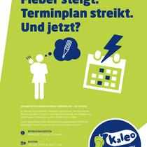 Familienservice Wolfsburg / Plakatserie KALEO