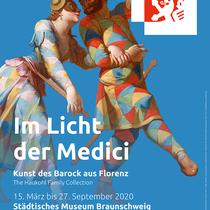 """Städtisches Museum Braunschweig / Ausstellung """"Im Licht der Medici"""" Plakat"""