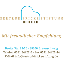 Gertrud Fricke Stiftung / Visitenkarte