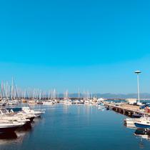 Hafen Marina di St. Elmo