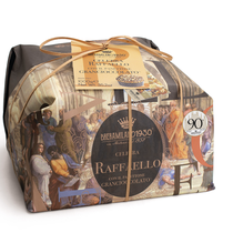 """RAFFAELLO"" COLLECTION: PANETTONE COVERED IN CHOCOLATE & HAZELNUTS (1kg)"