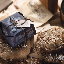 RUSTICO PANETTONE WITH ALMONDS AND ICING (1kg)