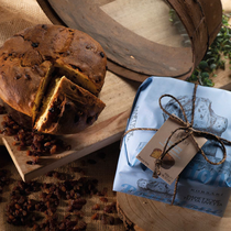 RUSTICO PANETTONE WITHOUT CANDIED FRUITS (1kg)