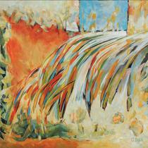 Love Symphony, 88 x 88cm, Acryl auf Holzplatte