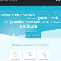 Sliderbild Weihnachten für Onilo (www.onilo.de); © Onilo/StoryDOCKS