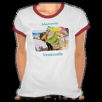 Camiseta vendedor de inflables en Morrocoy, Venezuela