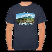 Camiseta Yes, I'm caraqueño! El Ávila, Caracas, Venezuela