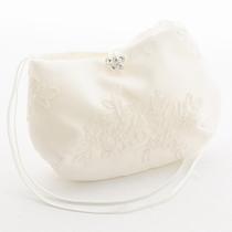 BT07, weiß oder ivory, Spitze, Kristallschmetterling