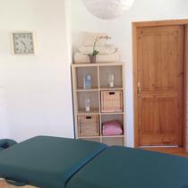 Behandlungsraum im Gesundheitszentrum Zwentendorf