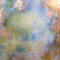 Forest Dawn 15 (15x15x5cm) SOLD (Forest Gallery, Petworth)