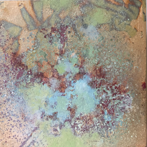 Frost (15x15cm) SOLD  (Forest Gallery, Petworth)