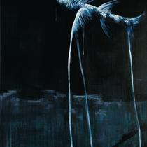 Dreibeinfisch l Acryl auf Leinwand l 70x100 cm
