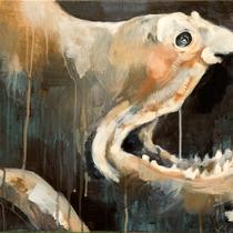Pelikanaal l Acryl auf Leinwand l 60x40 cm