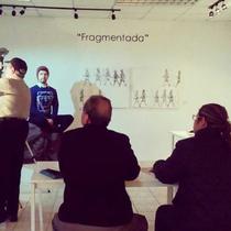 Taller de dibujo impartido por el maestro Ándres Zapata abierto al público en general. Coordinación de Galerías del IMAC. 2017.