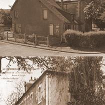 Chateau de la Ferrière au Doyen situé à l'entrée du bourg C'est la famille de Saint-Aignan qui a fait bâtir cette élégante maison bourgeoise Plus tard fut édifié un pavillon flanqué d'une tour ronde ou on découvre la vaste prairie de la Grimonière