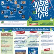 Plaquette Partenaires - Festival Juste pour Rire 2007 - Nantes