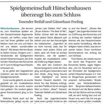 Konzert Frühjahr 2018, Wochenblatt Landstuhl